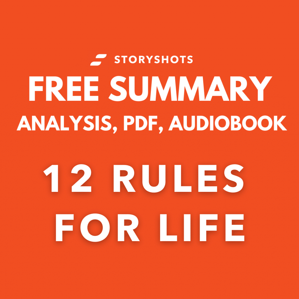 12 Rules for Life Free Book Review Summary Audiobook Animated Book Summary PDF Epub on StoryShots