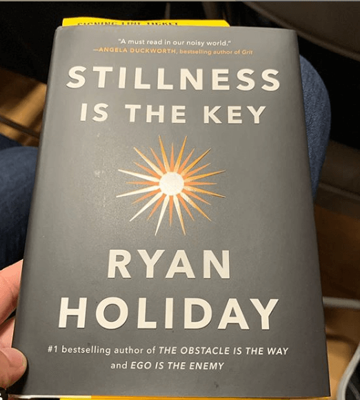 Summary of Stillness is the Key by Ryan