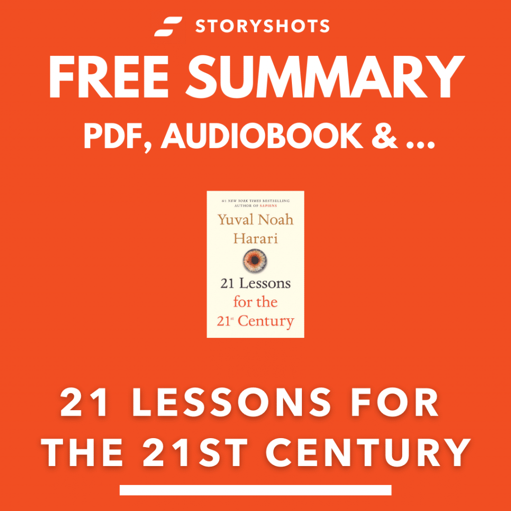 21 Lessons for The 21st Century Summary Yuval Noah Harari PDF Book Review Free Audiobook