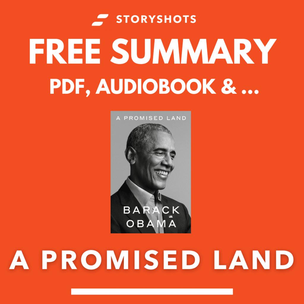 A Promised Land Free Book Review Summary Audiobook Animated Book Summary PDF Epub on StoryShots