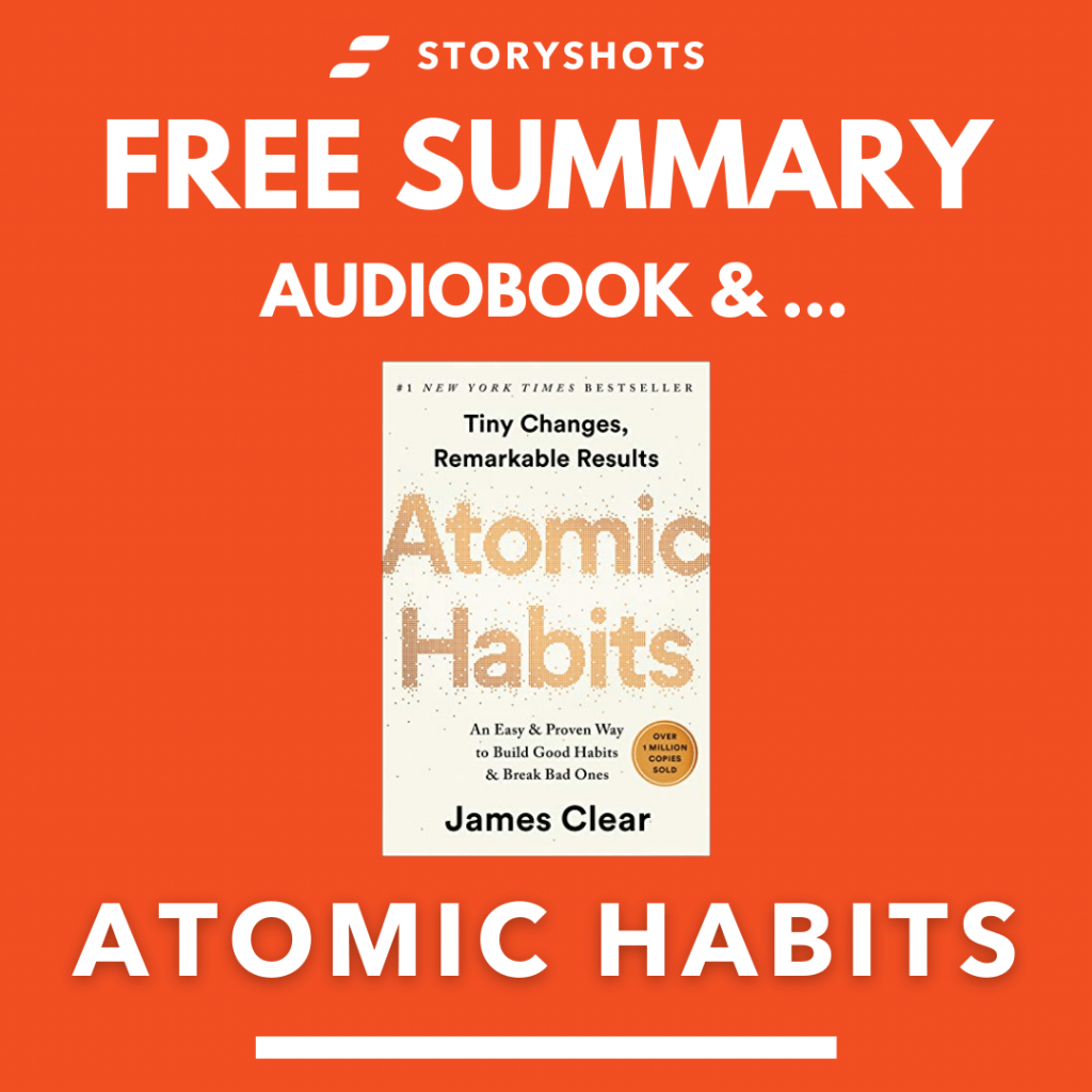 Atomic Habits by James Clear Free Book Review Summary Audiobook Animated Book Summary PDF Epub on StoryShots