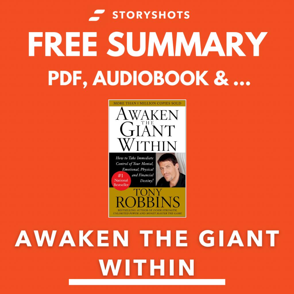 Awaken the Giant Within Free Book Review Summary Audiobook Animated Book Summary PDF Epub on StoryShots