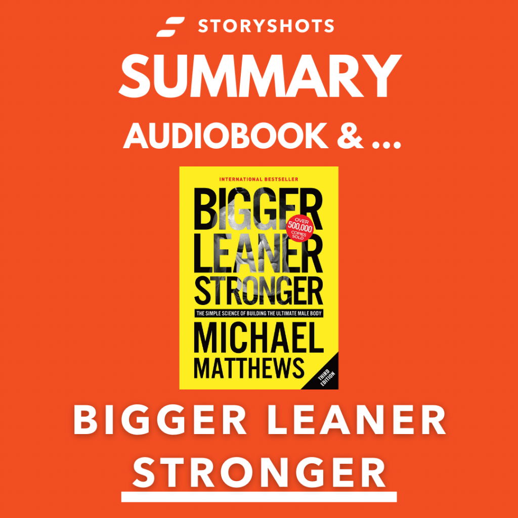Bigger Leaner Stronger by Michael Matthews Free Book Review Summary Audiobook Animated Book Summary PDF Epub on StoryShots