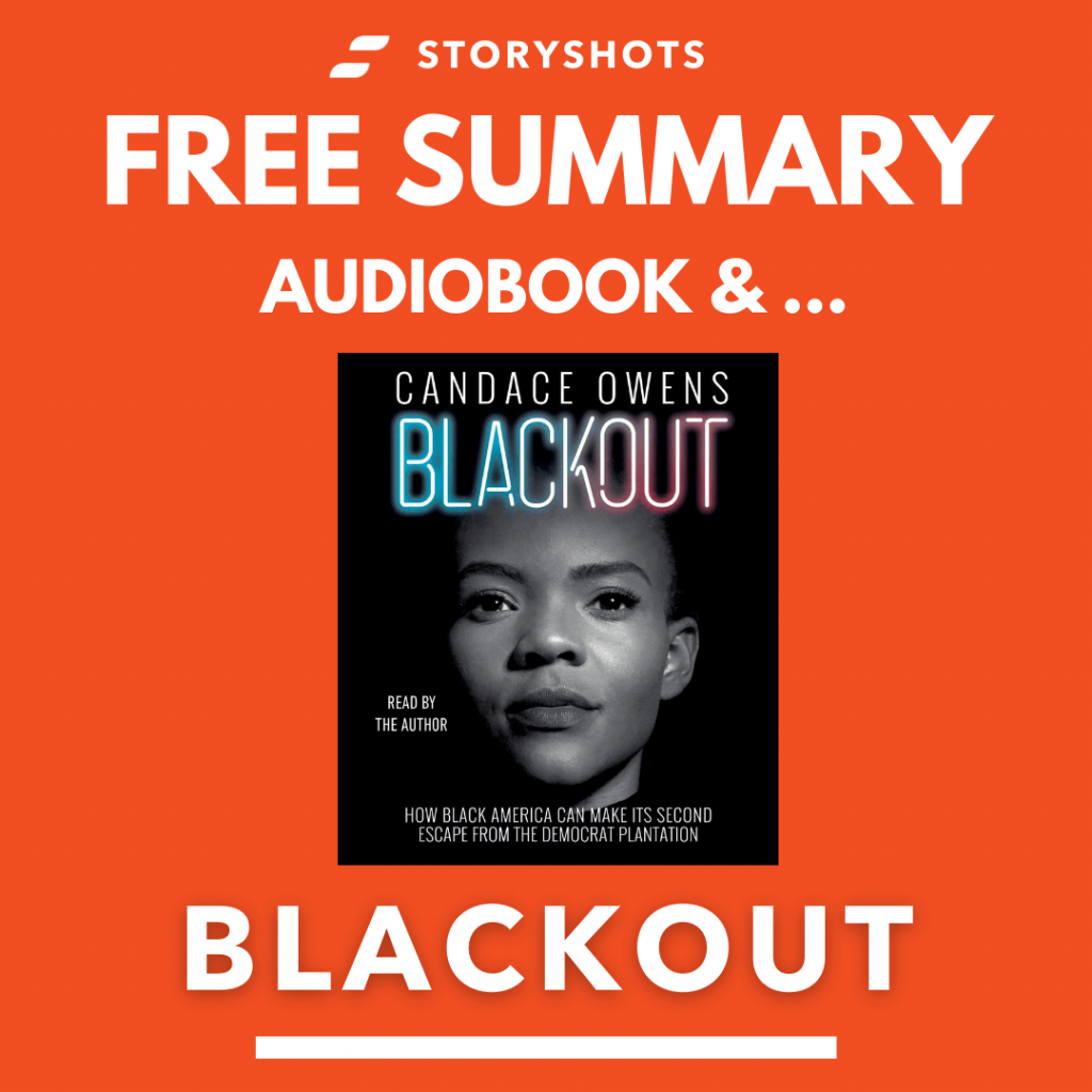 Blackout by Candace Owens Free Book Review Summary Audiobook Animated Book Summary PDF Epub on StoryShots