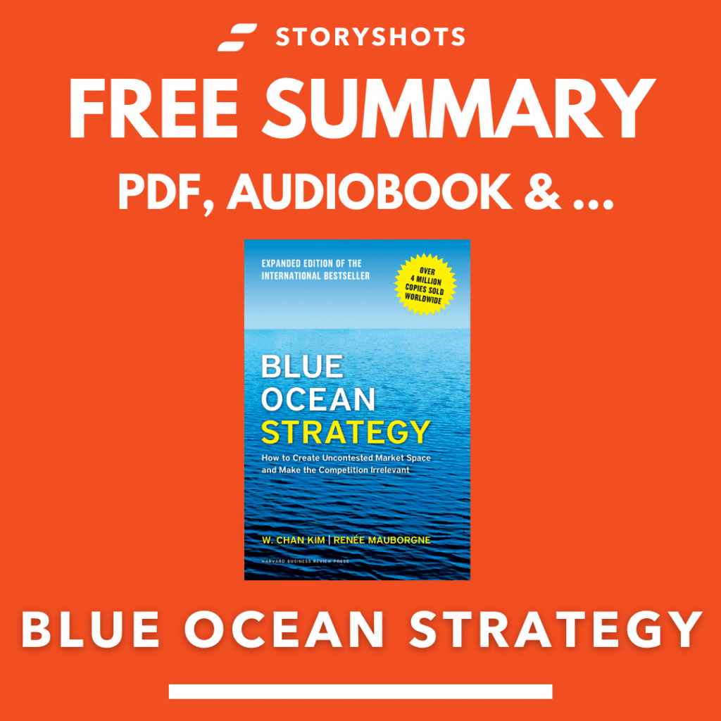 Blue Ocean Strategy Free Book Review Summary Audiobook Animated Book Summary PDF Epub on StoryShots