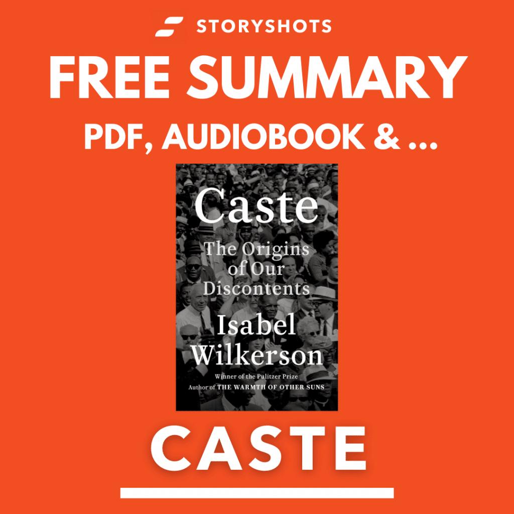 Caste Free Book Review Summary Audiobook Animated Book Summary PDF Epub on StoryShots