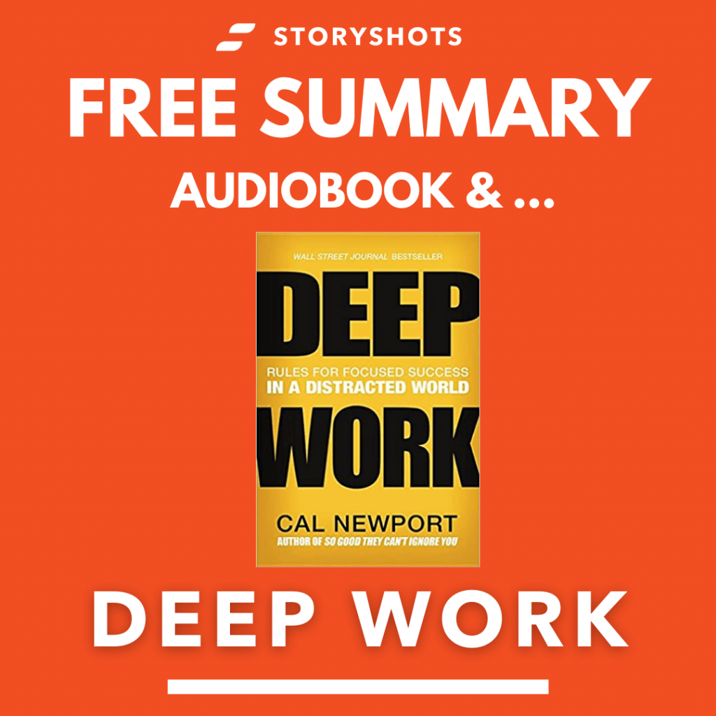 Deep Work by Cal Newport Free Book Review Summary Audiobook Animated Book Summary PDF Epub on StoryShots