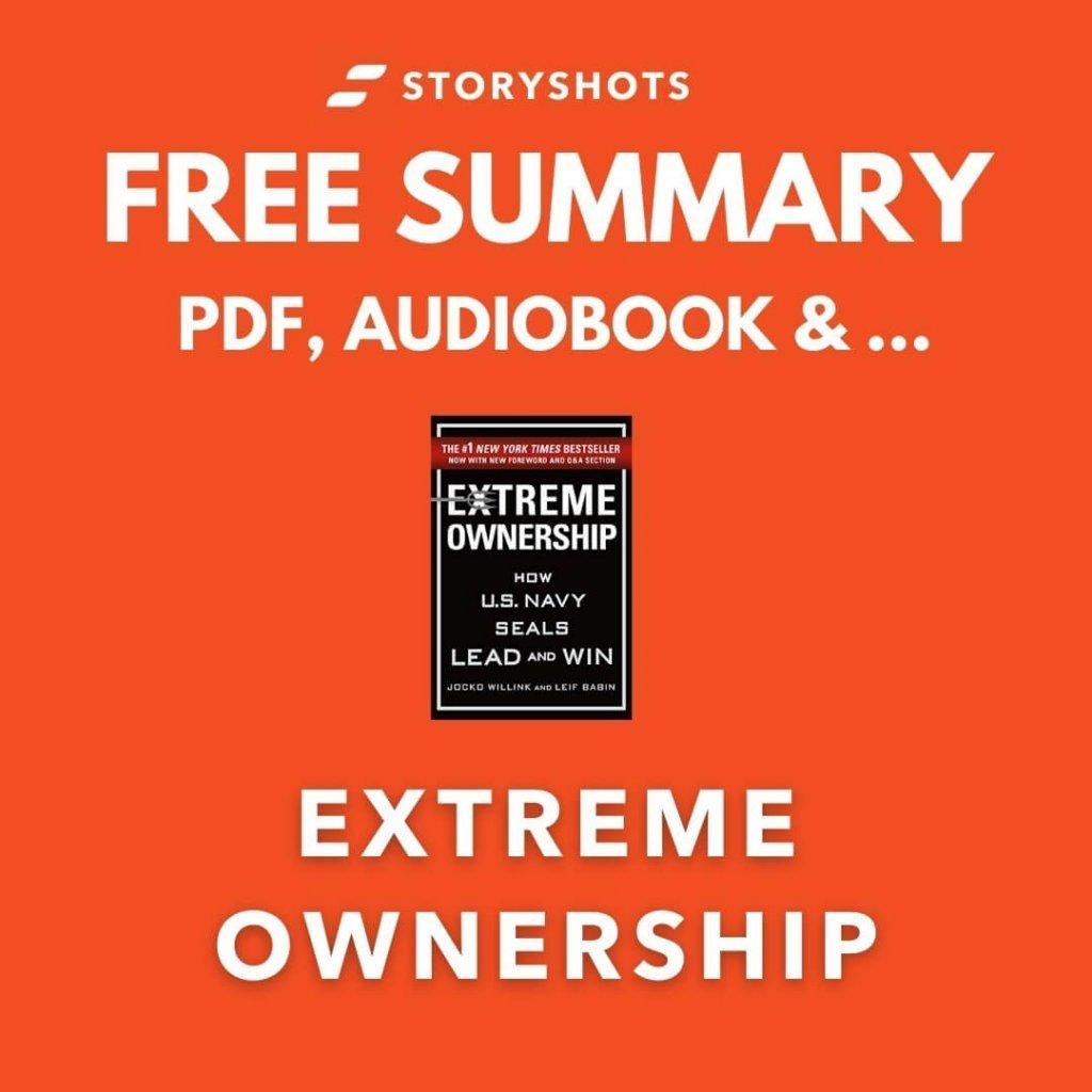 Extreme Ownership Chapter Summary PDF Jocko Wiilink Free Audiobook