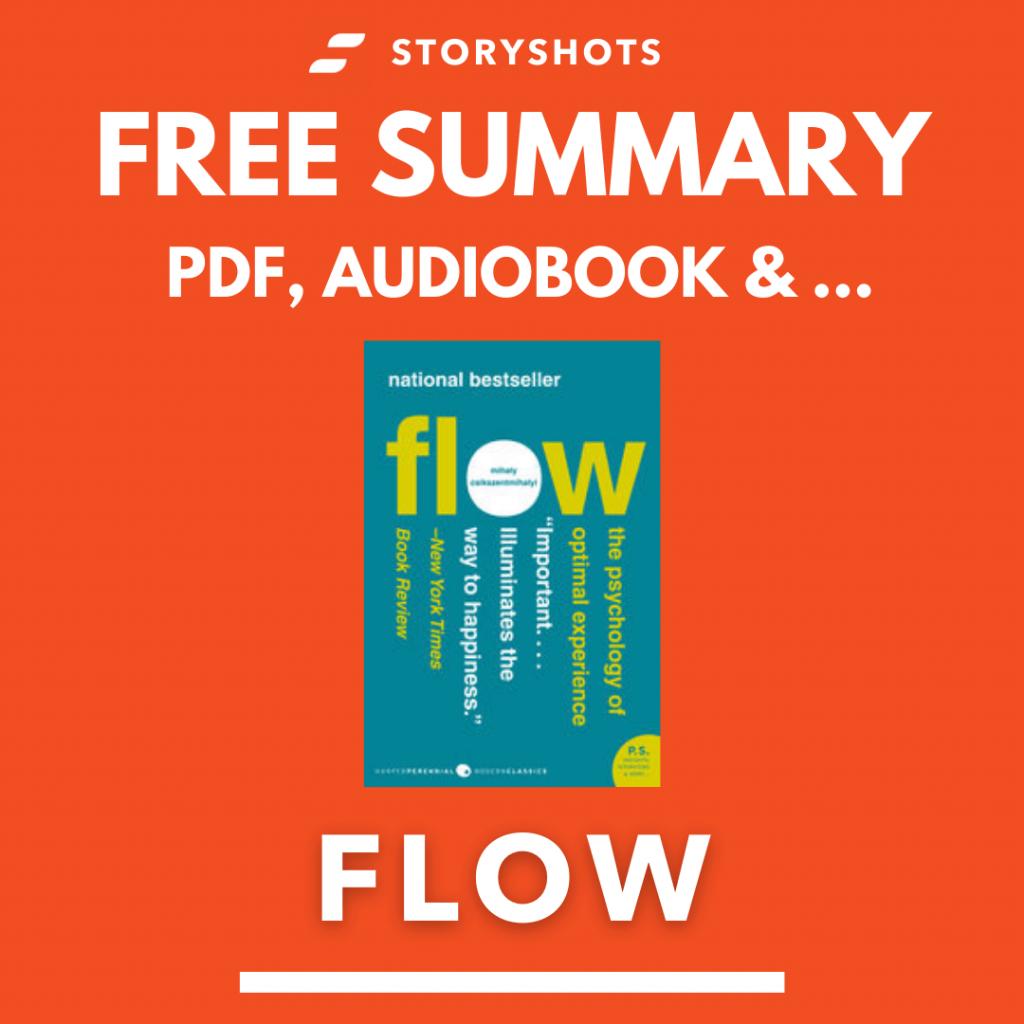 Flow Free Book Review Summary Audiobook Animated Book Summary PDF Epub on StoryShots