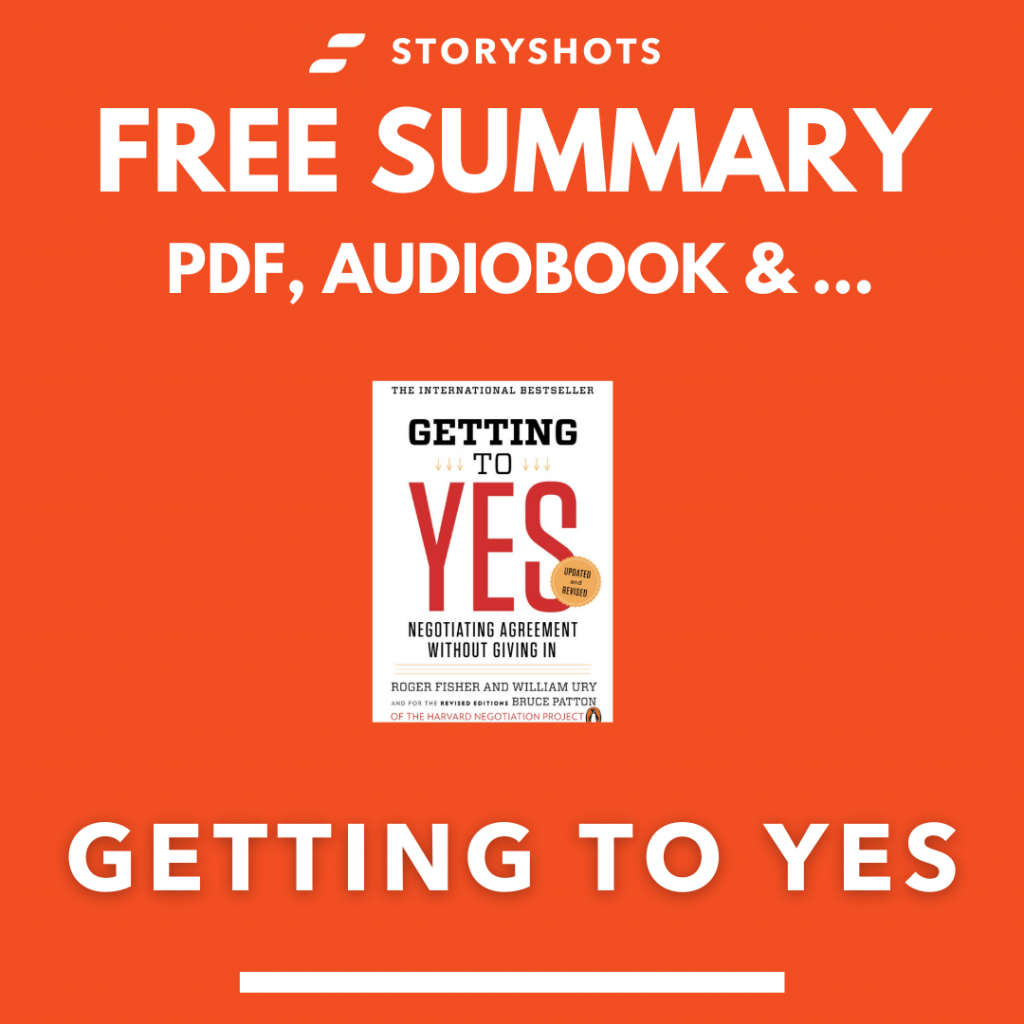 Getting to Yes PDF Summary