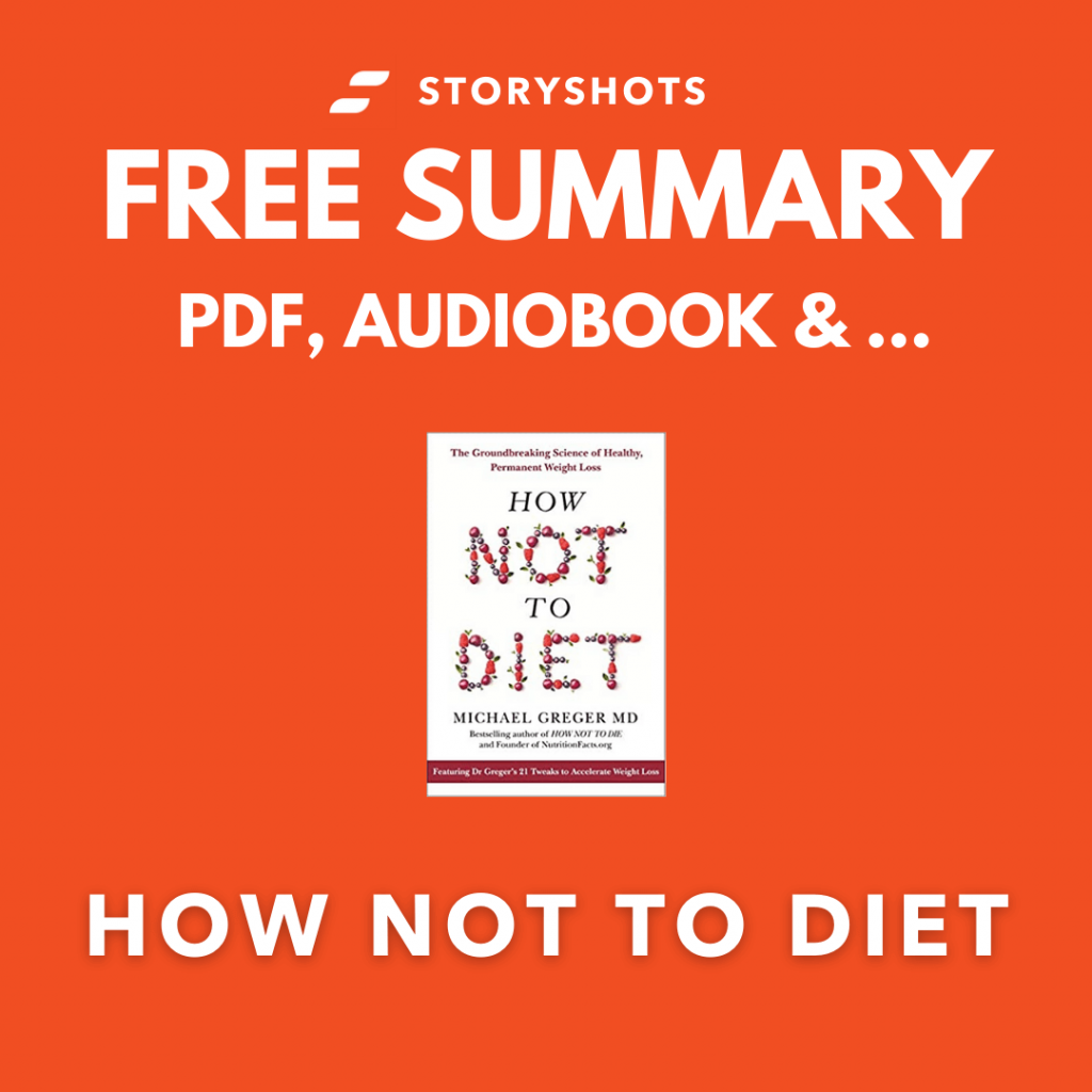 How Not to Diet Book Summary by Dr Michael Gerber PDF Free Audiobook