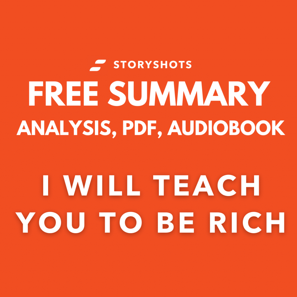 I will teach you to be rich summary pdf ramit sethi free audiobook storyshots
