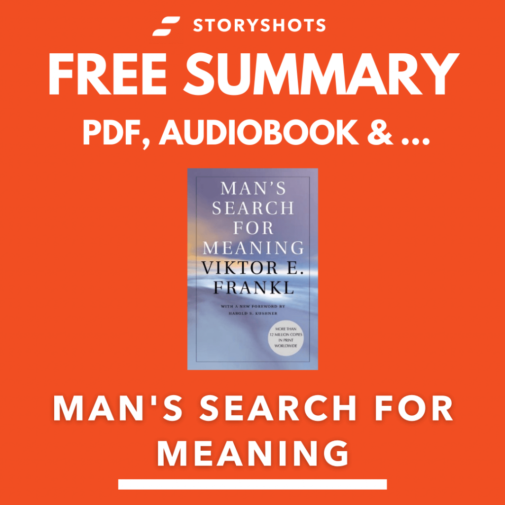 Man's search for meaning by Viktor Frankl Free Book Review Summary Audiobook Animated Book Summary PDF Epub on StoryShots