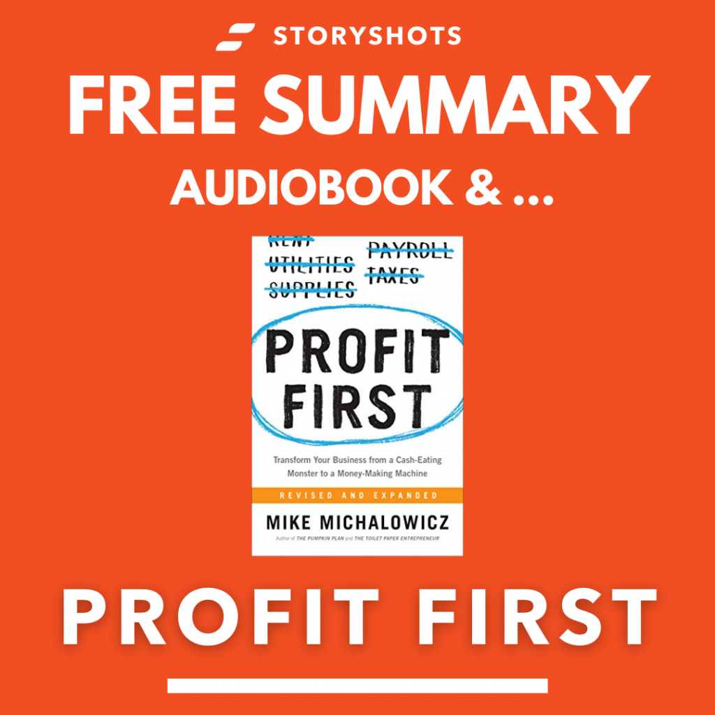 Profit first Free Book Review Summary Audiobook Animated Book Summary PDF Epub on StoryShots