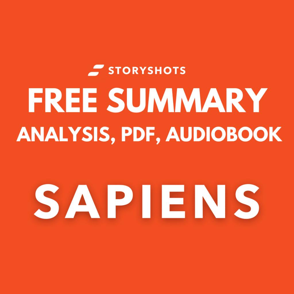 Sapiens book summary pdf by Yuval Noah Harari free audiobook review on StoryShots
