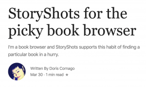 StoryShots reviewed by EnglishForum.com - An App for Picky Browsers