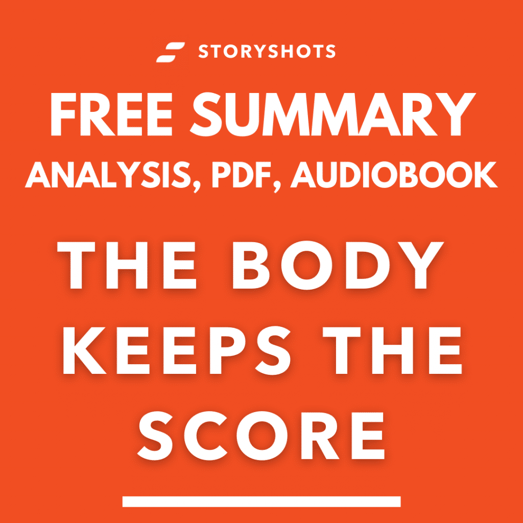 The Body Keeps The Score Summary PDF Bessel Van der Kolk Free Audiobook