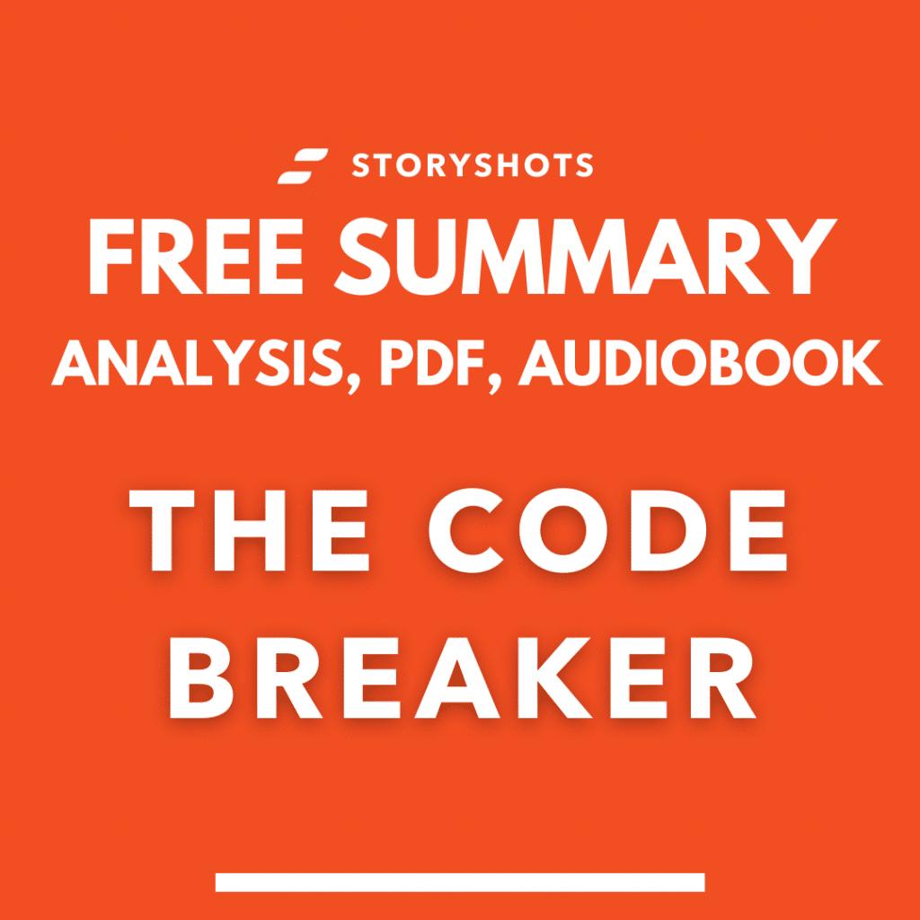The Code Breaker summary Walter-Isaacson pdf analysis free audio book