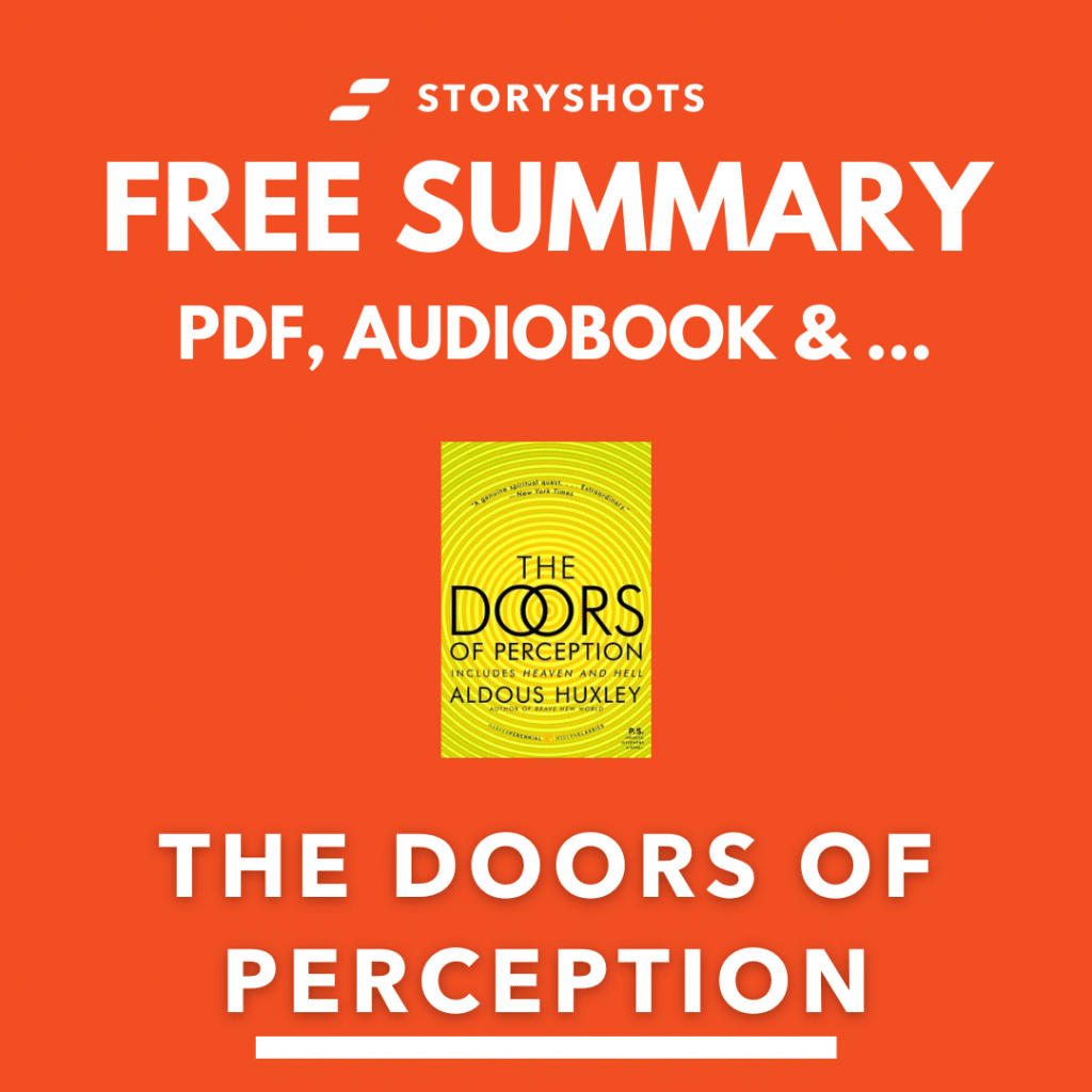 Summary of The Doors of Perception by Aldous Huxley, PDF, Free Audiobook