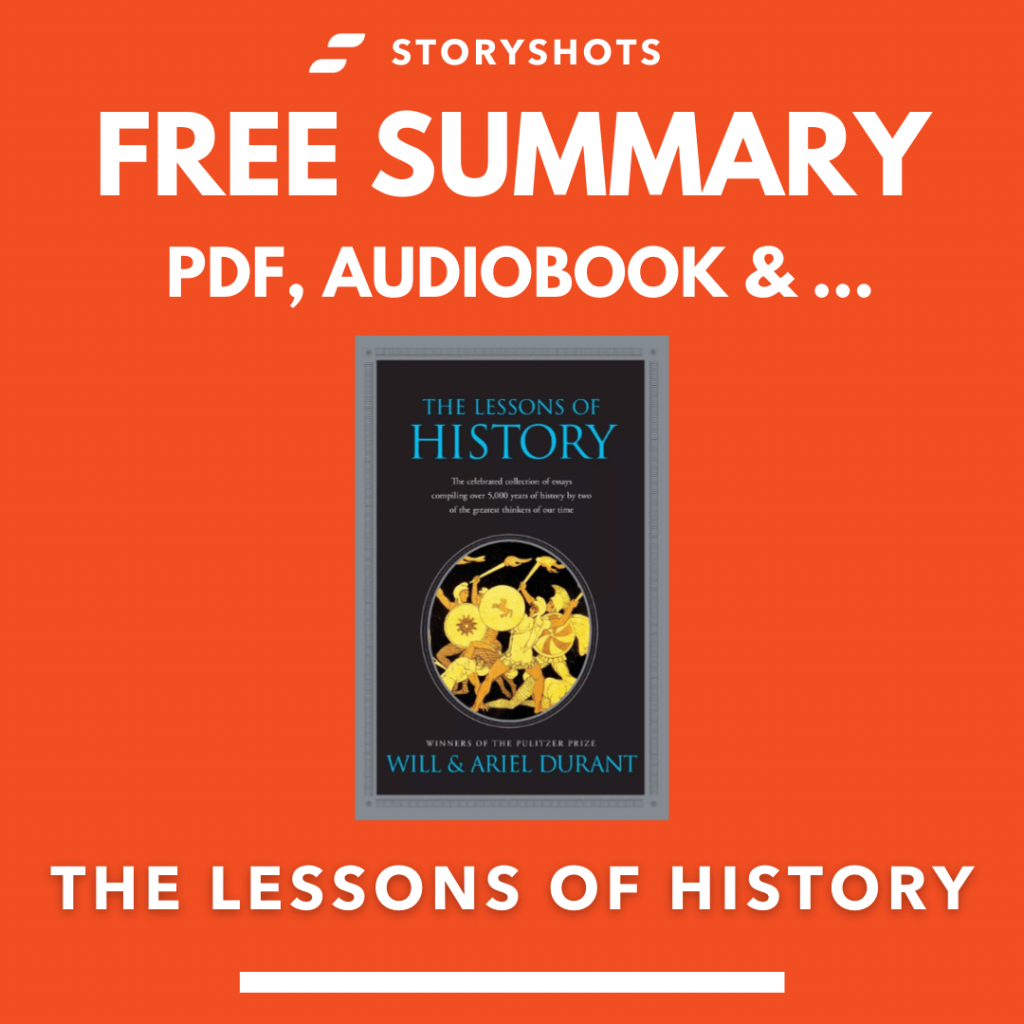 The Lessons of History Free Book Review Summary Audiobook Animated Book Summary PDF Epub on StoryShots