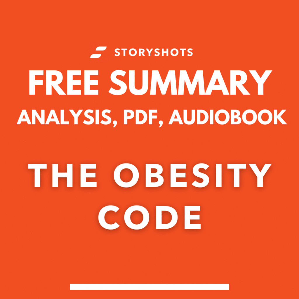 The Obesity Code by Jason Fung summary PDF free audiobook book review and analysis on StoryShots