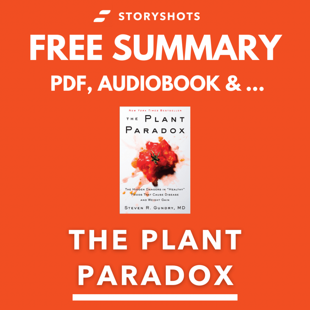 The Plant Paradox Free Book Review Summary Audiobook Animated Book Summary PDF Epub on StoryShots