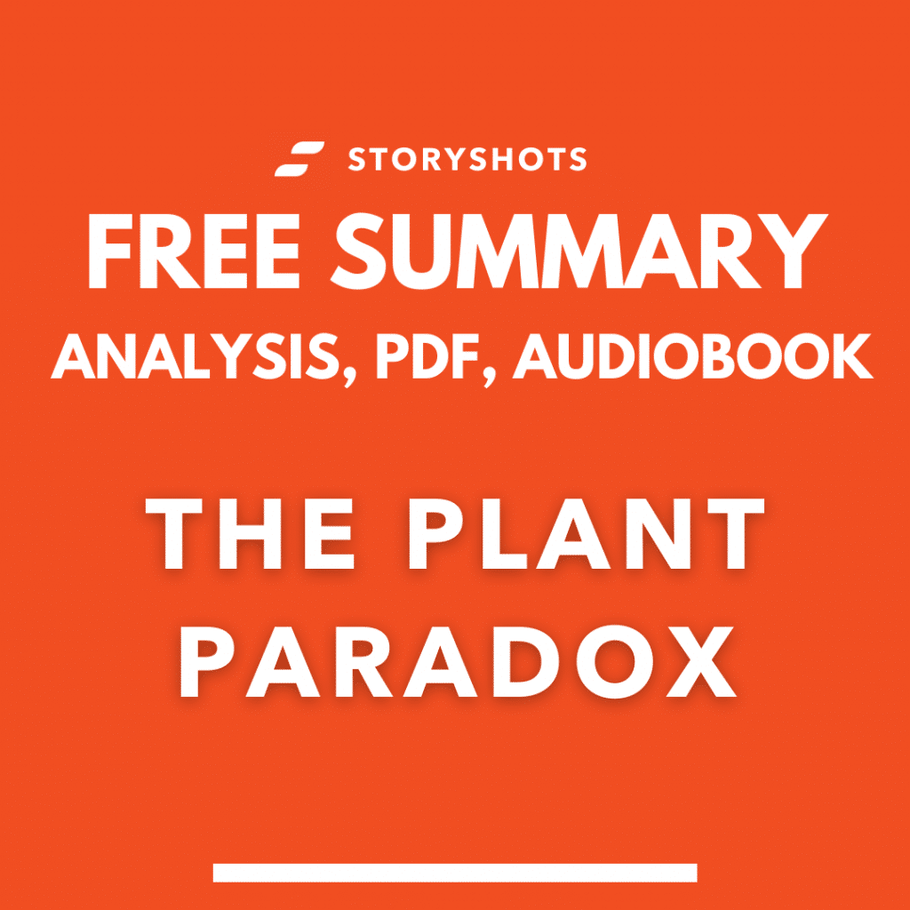 The Plant Paradox summary PDF Steven Gundry free audiobook book review analysis on StoryShots