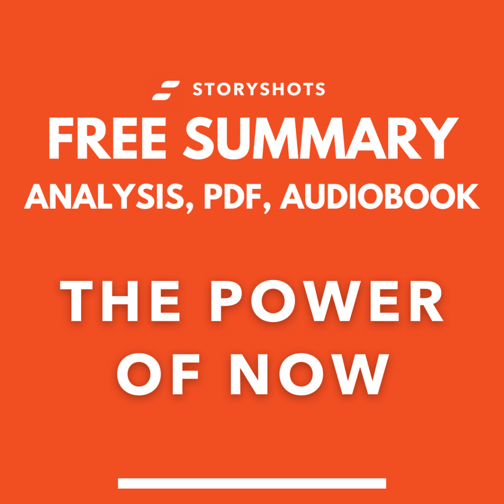 The Power of Now PDF Summary by Eckhart Tolle Book Review and Free Audiobook
