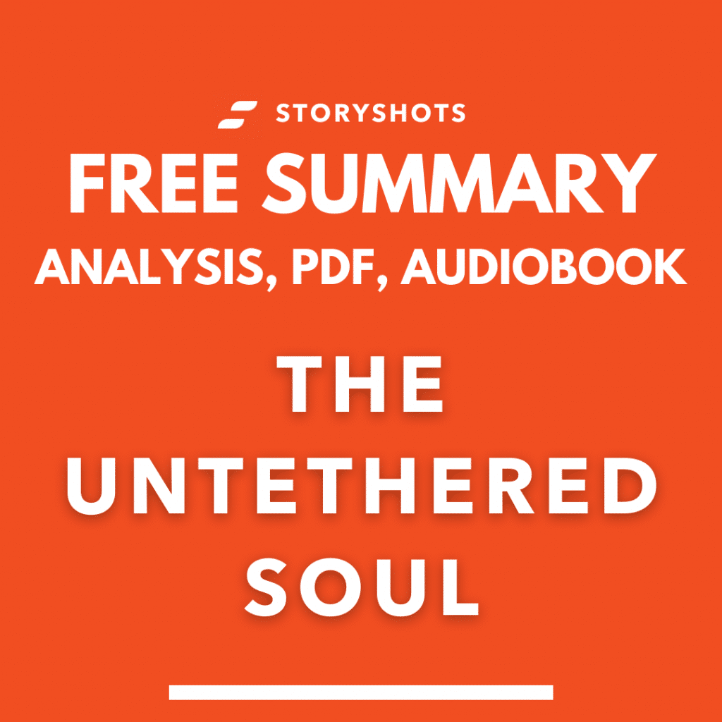 The Untethered Soul Summary Analysis Michael Singer PDF free audio book review
