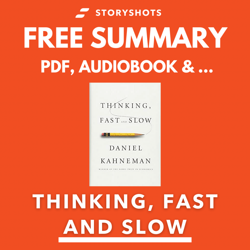Thinking, Fast and Slow by Daniel Kahneman Free Book Review Summary Audiobook Animated Book Summary PDF Epub on StoryShots