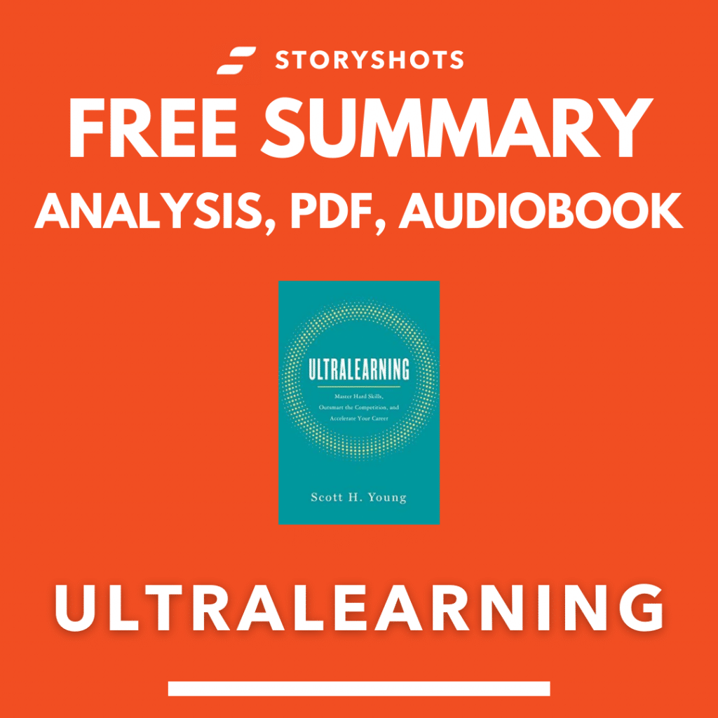 Ultralearning pdf summary Scott Young free audio book storyshots analysis and synopsis cliff notes