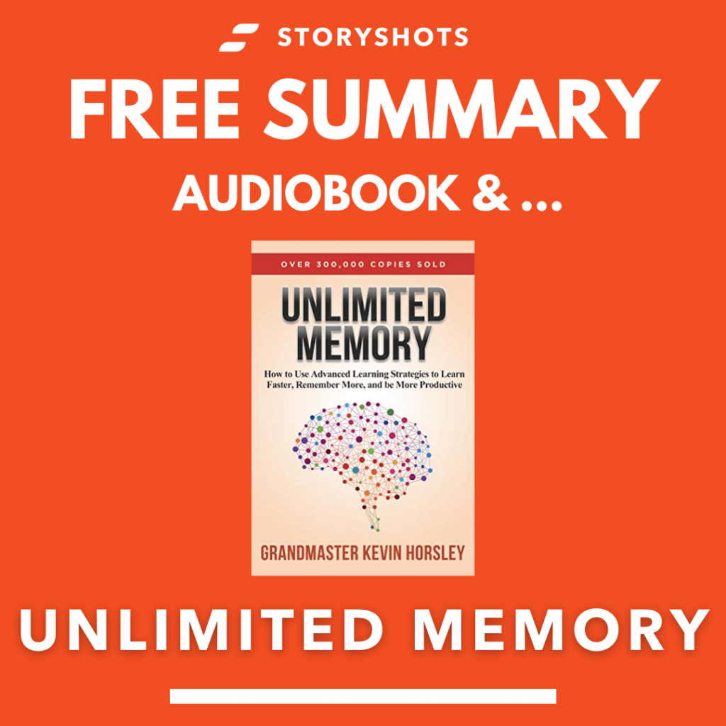 Unlimited Memory by Kevin Horsley Free Book Review Summary Audiobook Animated Book Summary PDF Epub on StoryShots