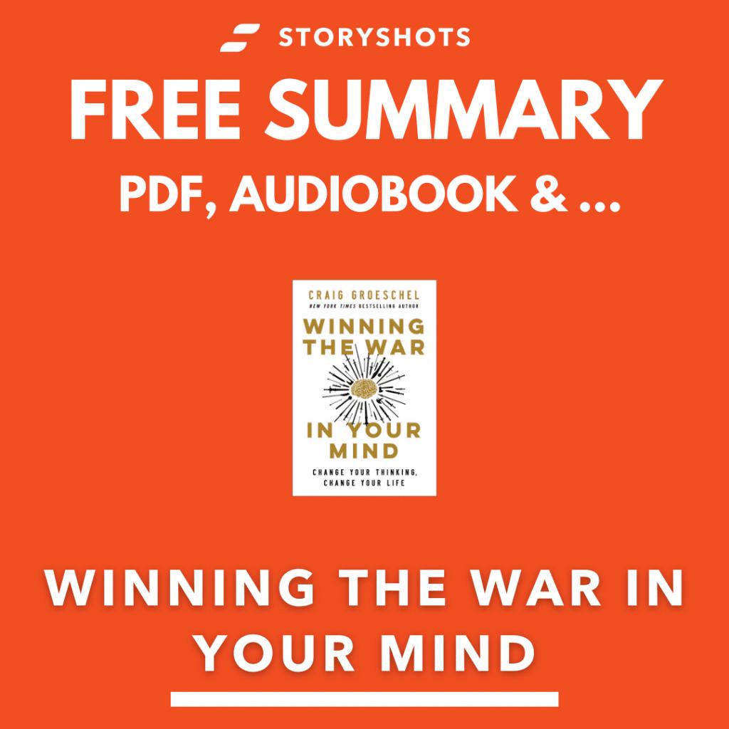 Winning the war in your mind summary by Craig Groeschel Free PDF Audio Book