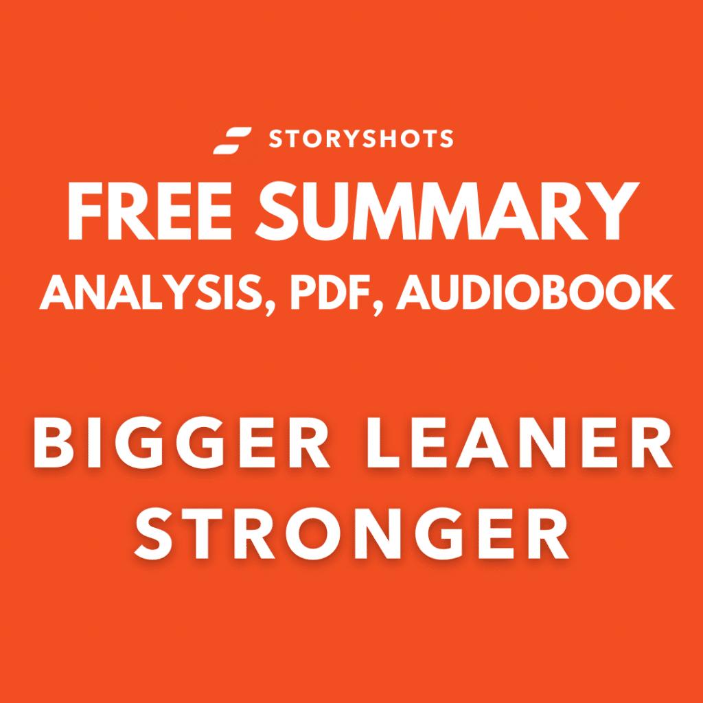 bigger leaner-stronger-book-summary-pdf-michael-matthews-analysis-audiobook-free