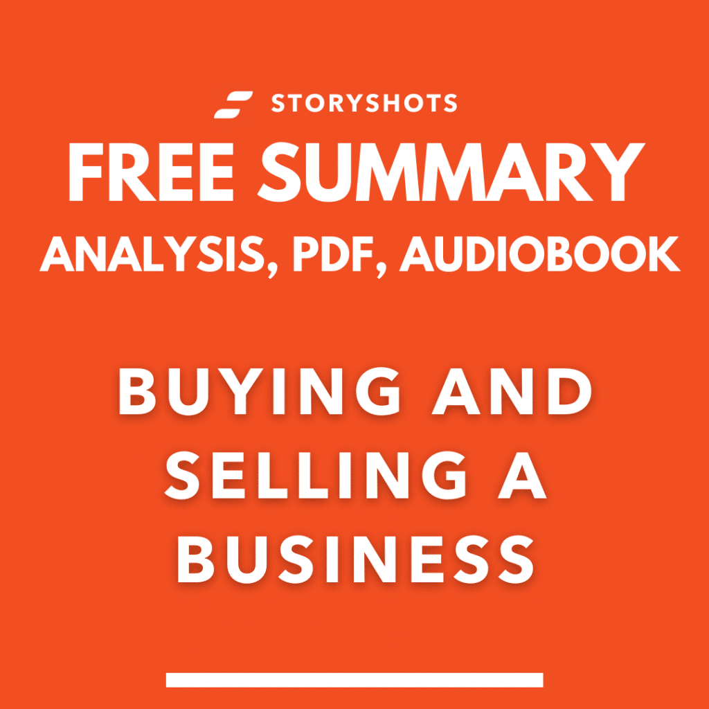 Buying and Selling a Business book summary pdf Garrett Sutton free audiobook analysis storyshots