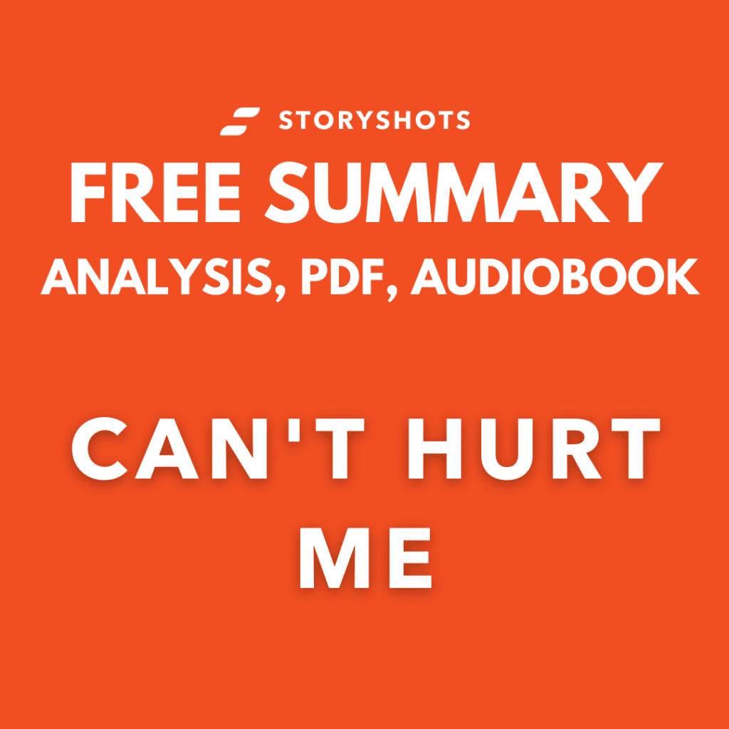 Can't Hurt Me Summary PDF David Goggins Review Analysis Free Audiobook - StoryShots