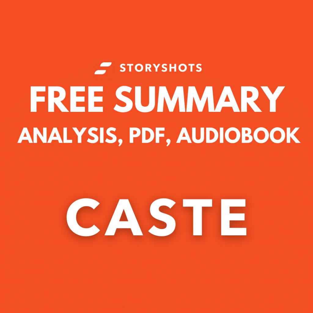 Cast Summary PDF Book Isabel-Wilkerson Free Audio Analysis Storyshots