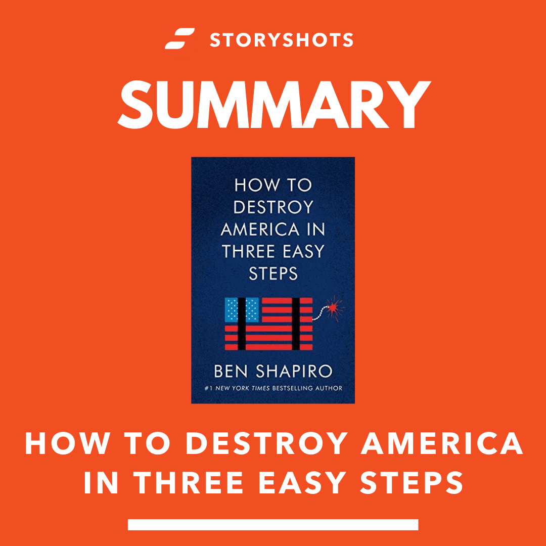 How to America in Three Easy Steps by Ben Shapiro - Free Summary, PDF and Audiobook