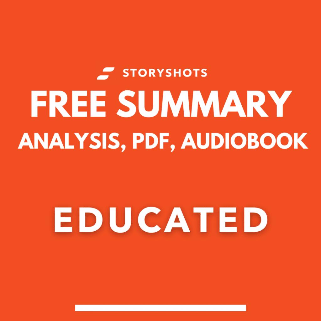 Educated summary tara westover free pdf audio book review storyshots