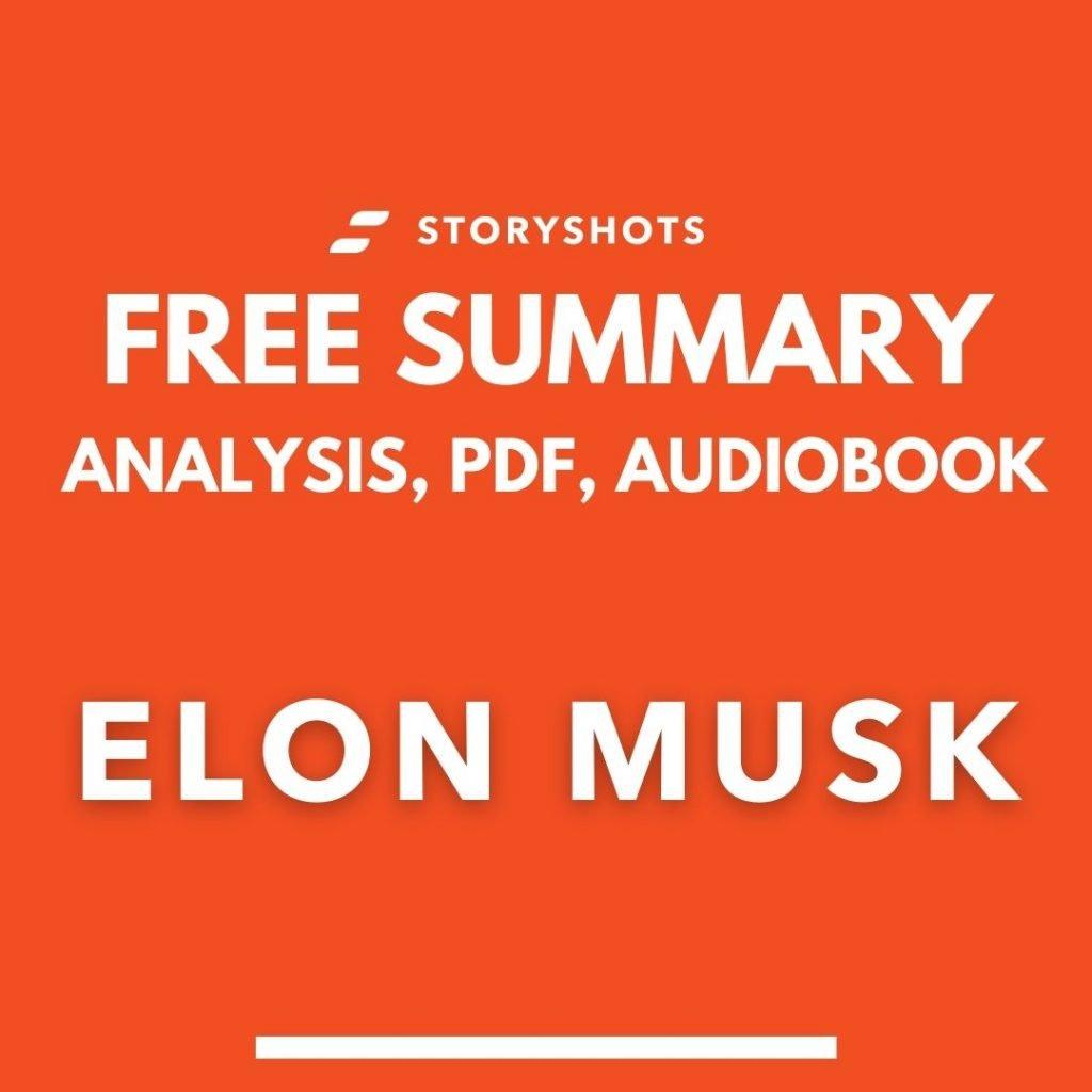 Elon Musk book summary pdf Ashlee Vance free audiobook review analysis