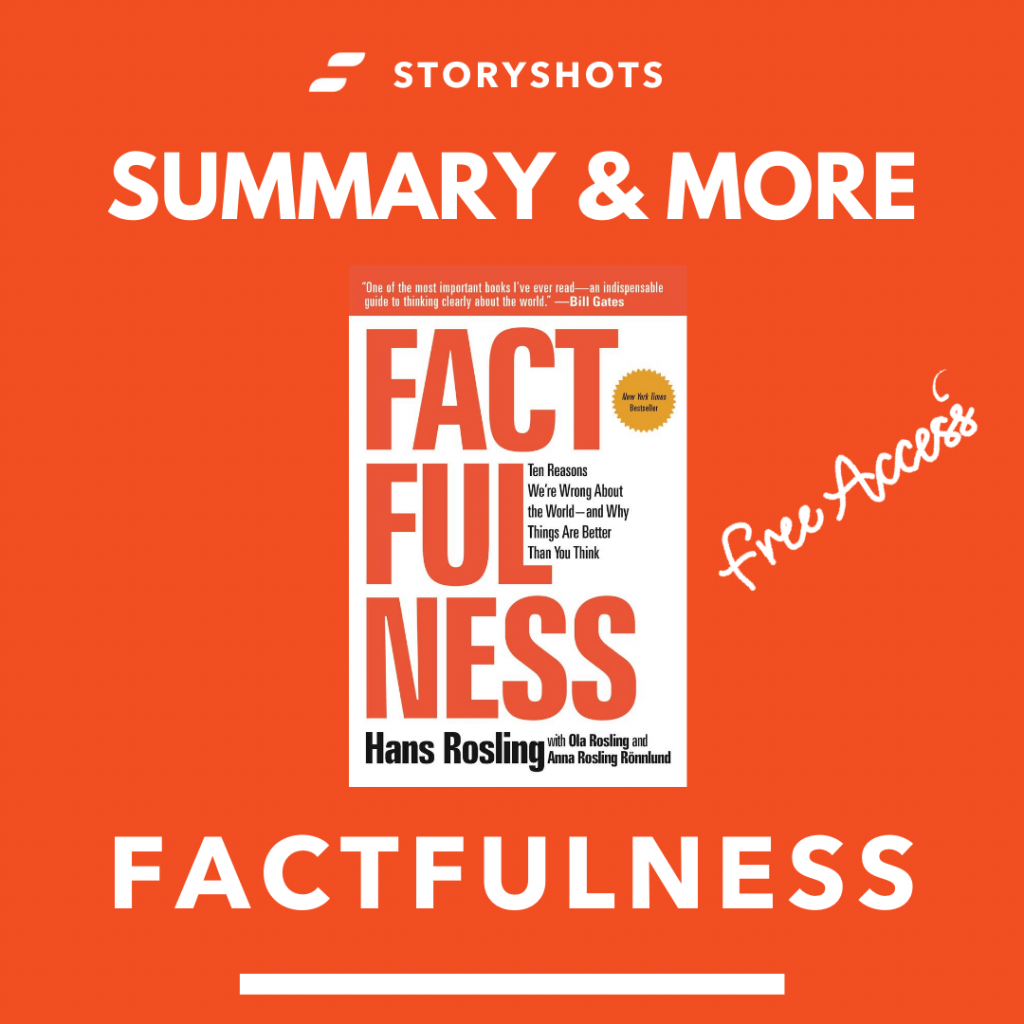 free summary of Factfulness + ebook & audiobook