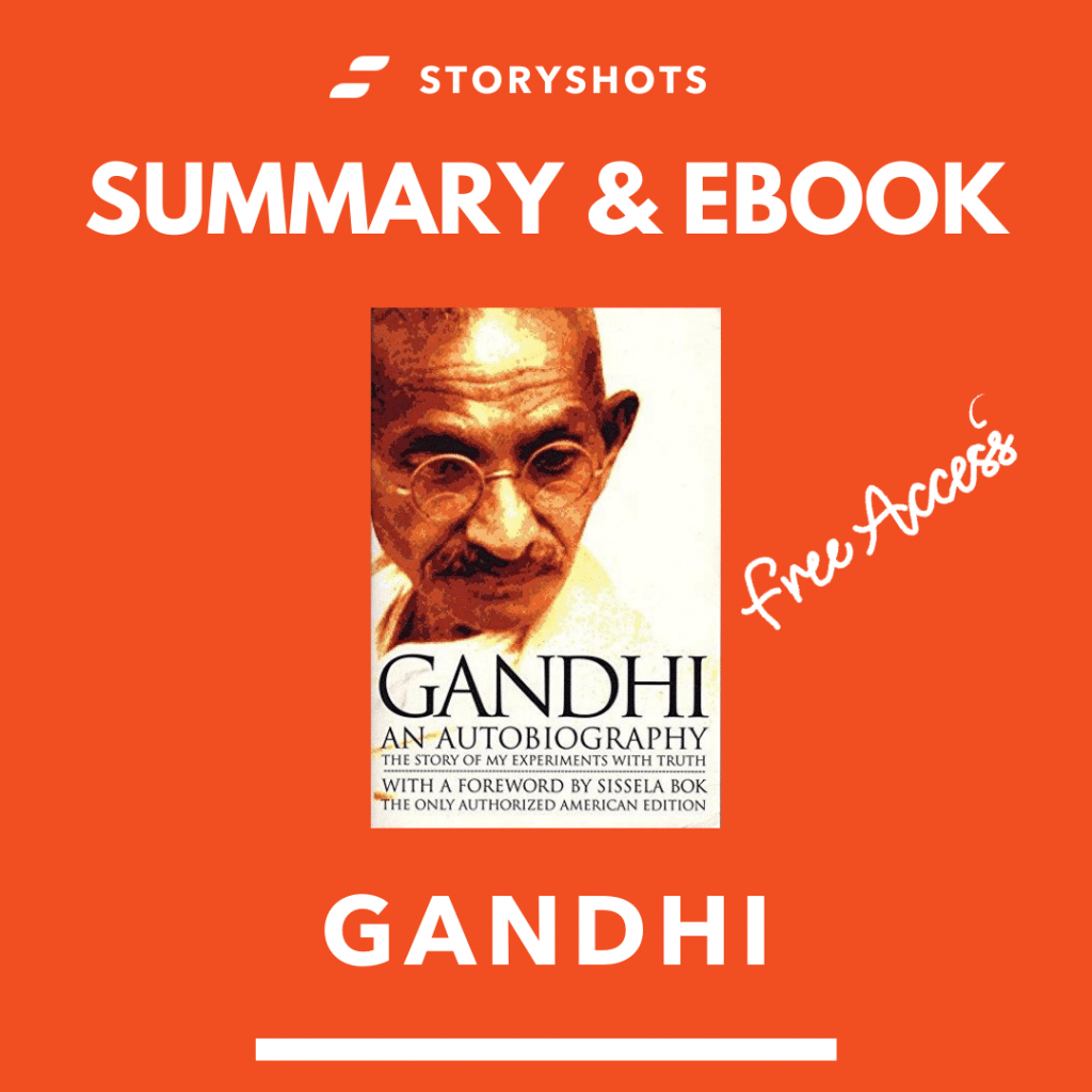 free summary and ebook of Gandhi: An Autobiography