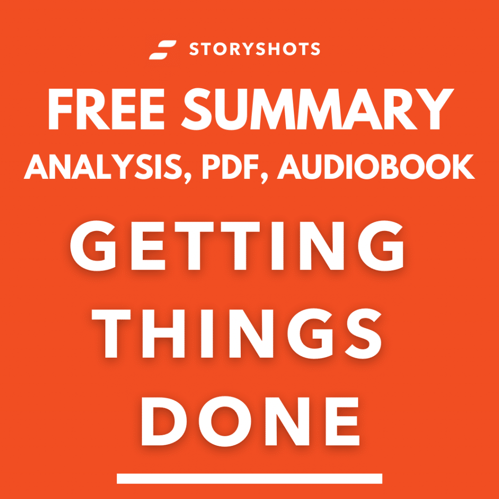 Getting Things Done Summary Review Analysis PDF David Allen StoryShots Free Audiobook
