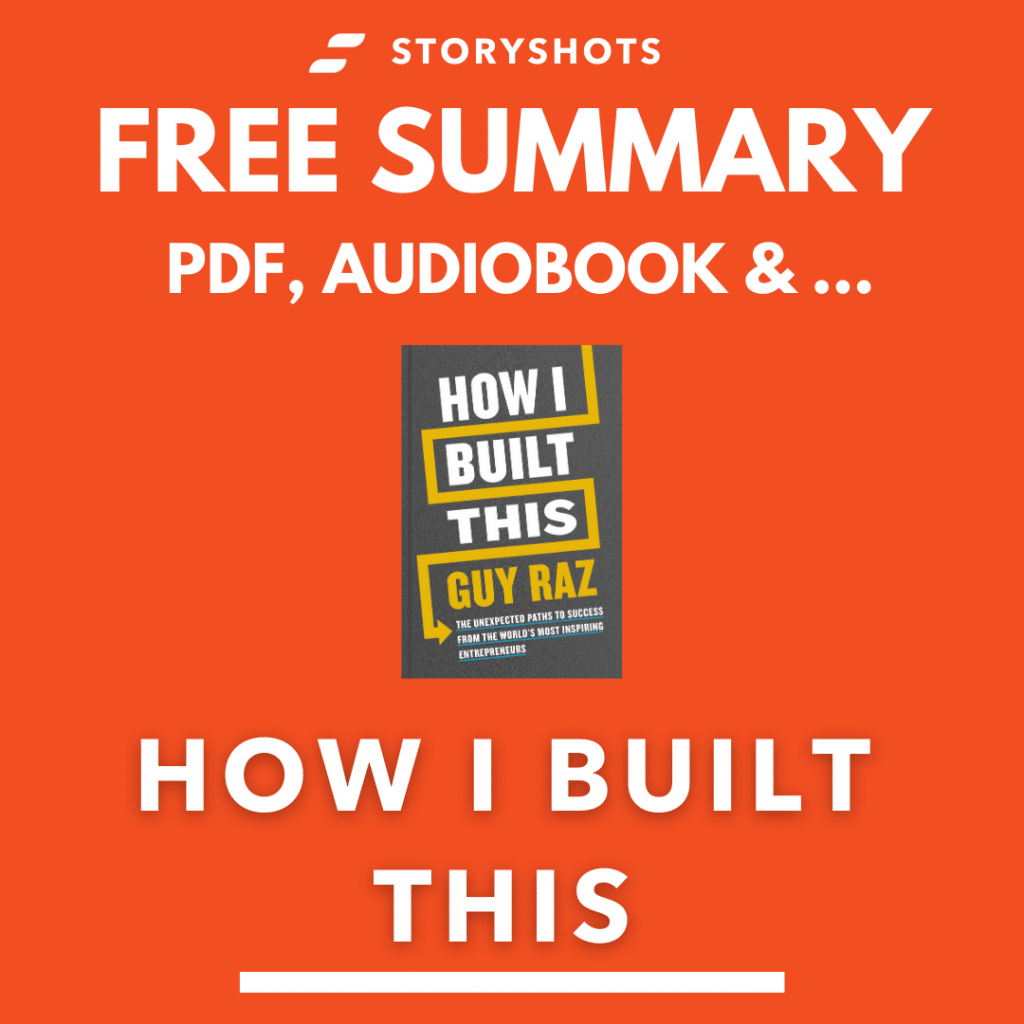 How I Built This Book Summary | Free PDF by Guy Raz