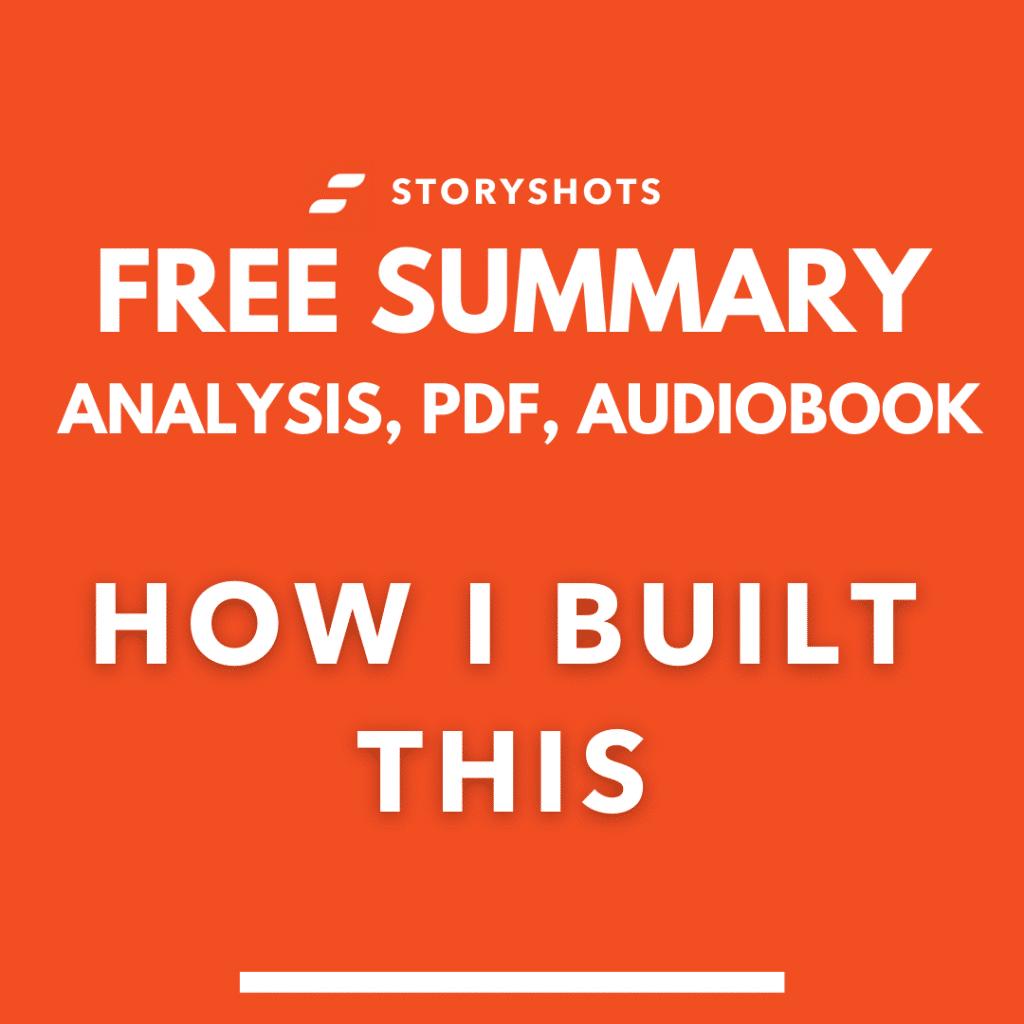 how I built this summary pdf guy raz free audiobook review analysis storyshots