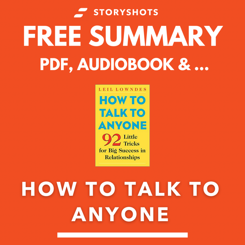 How to Talk To Anyone by Leil Lowndes PDF Summary
