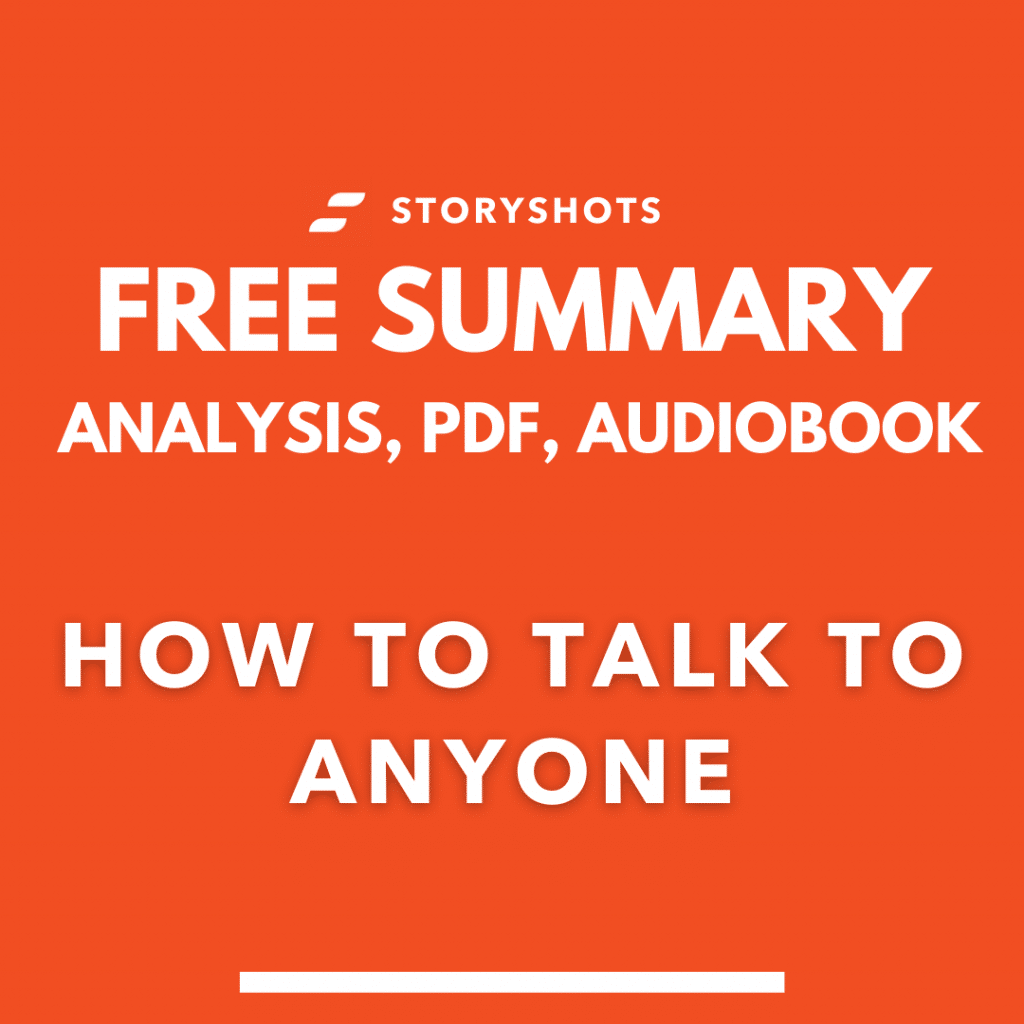How to Talk To Anyone by Leil Lowndes PDF Summary free audiobook storyshots analysis
