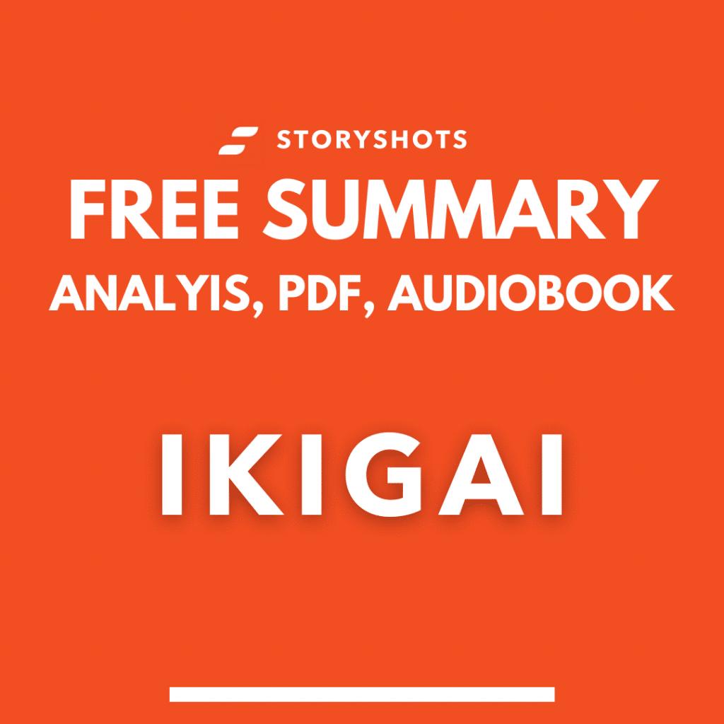 Ikigai book summary free audiobook Frances Miralles analysis storyshots chapters