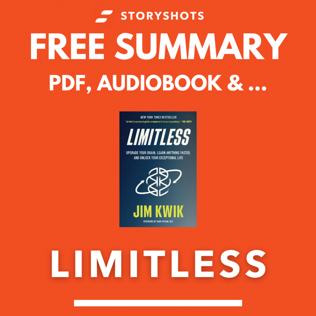 Limitless by Jim Kwik Free Book Review Summary Audiobook Animated Book Summary PDF Epub on StoryShots