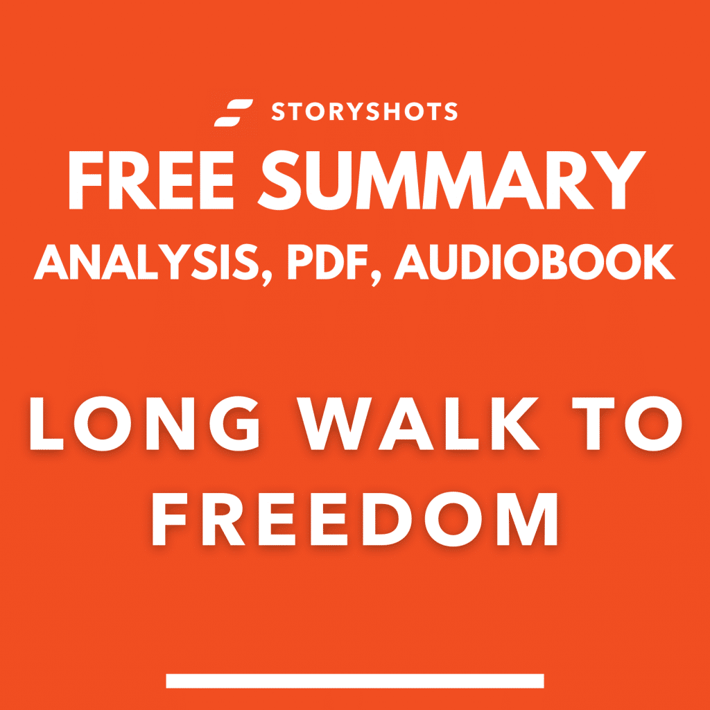 Summary of Long Walk to Freedom by Nelson Mandela pdf free audiobook on storyshots